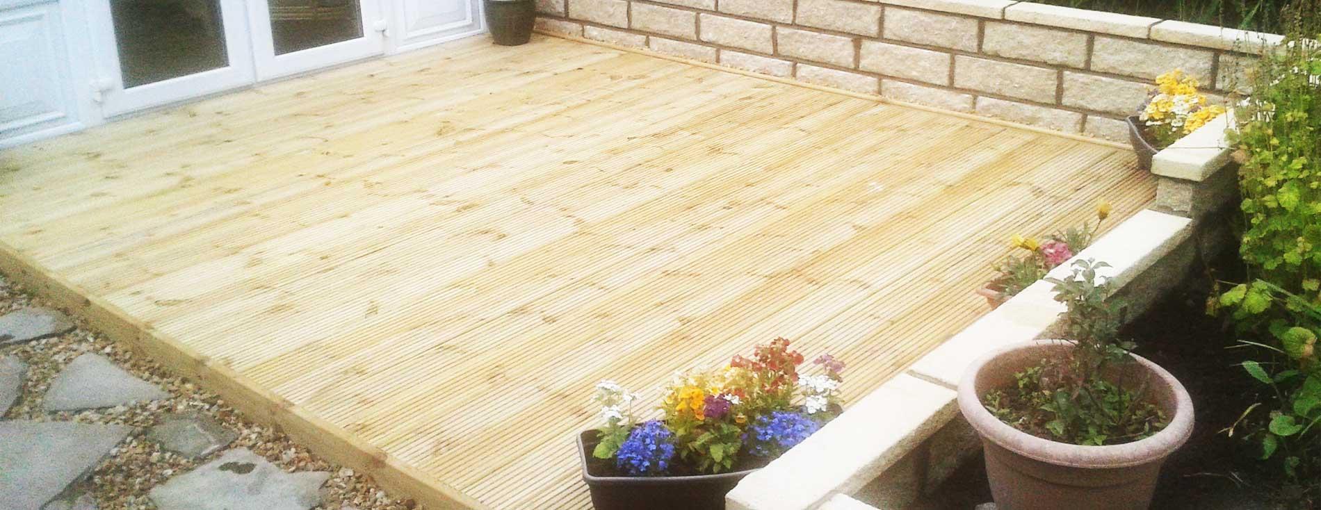 Wooden Decking Livingston